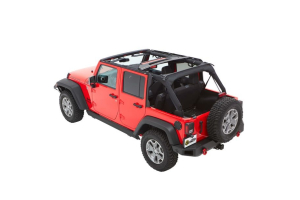 Bestop Trektop NX Plus Soft Top Twill Black (Part Number: )