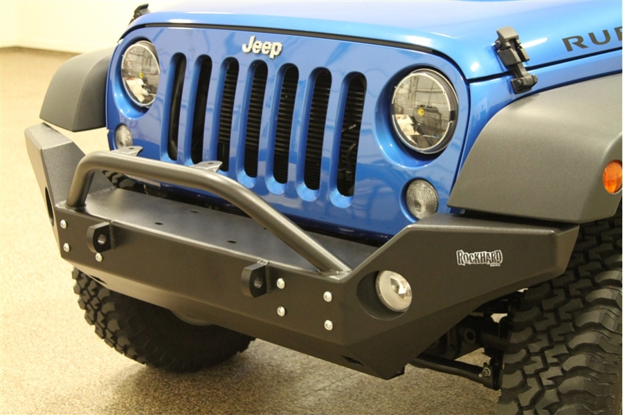 Rock Hard 4x4 Patriot Series Full Width Front Bumper  (Part Number:RH-5006)
