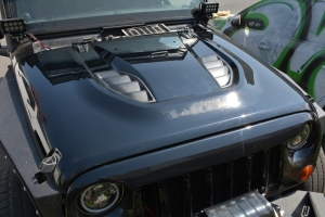 DV8 Offroad Rubicon 10th Anniversary Replica Hood, Unpainted (Part Number: )