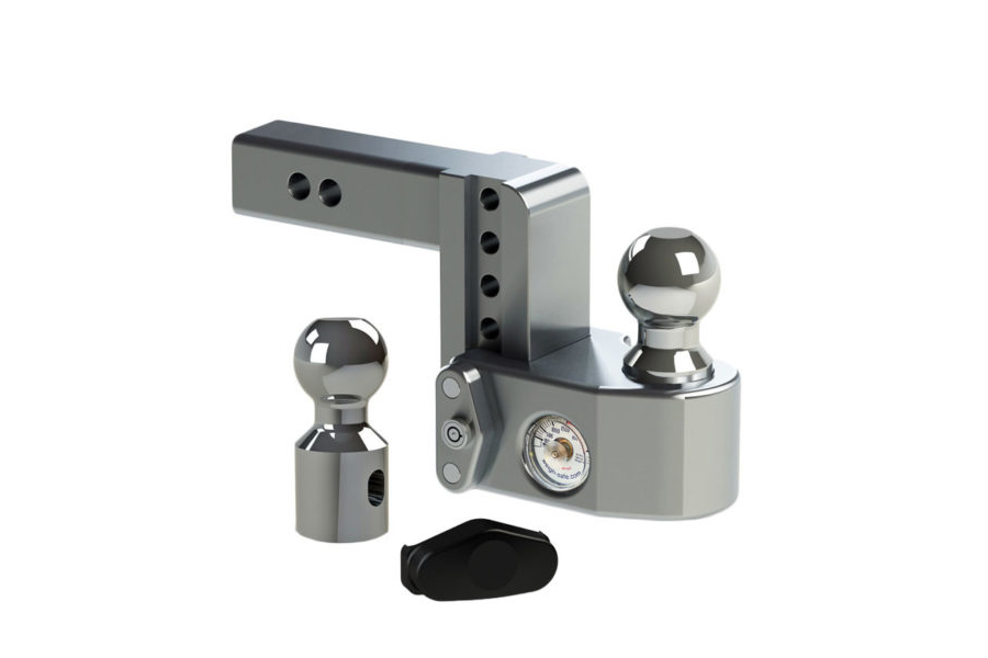 Weigh Safe 4in Drop Hitch w/ 2in Shaft (Part Number:WS4-2)