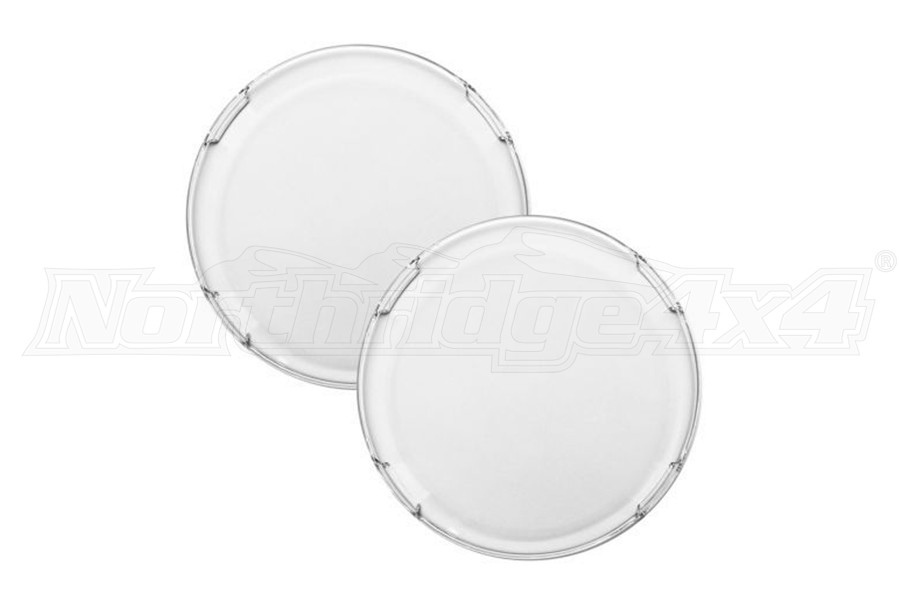 Rigid Industries 360-Series 6in LED Light Cover, Clear - Pair