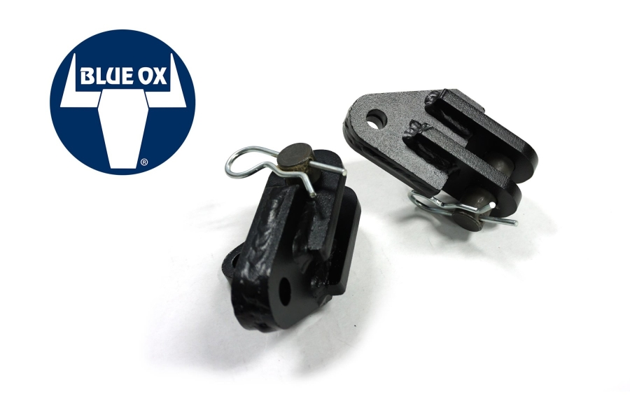 LOD Destroyer Front Bumper Blue OX Tow Bar Adapters ( Part Number: JTB0720)