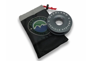 Overland Vehicle Systems Soft Shackle & Recovery Ring Combo Pack