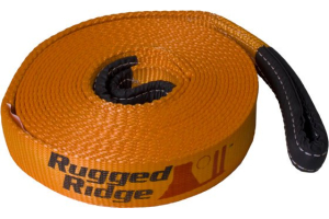 Rugged Ridge Recovery Strap 4-Inch X 30 Feet   (Part Number: )
