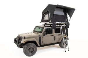 FreeSpirit Recreation Adventure Series Gas Strut Premium 55in Roof Top Tent - Grey