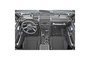 Rugged Ridge Interior Trim Accent Kit Chrome  - JK
