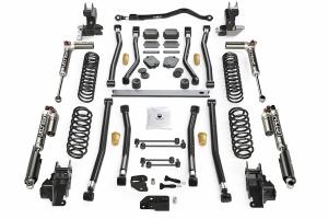 Teraflex Alpine CT4 4.5in Long Arm Lift Kit - w/Falcon SP2 3.3 Adjust. Shocks - JL 2dr