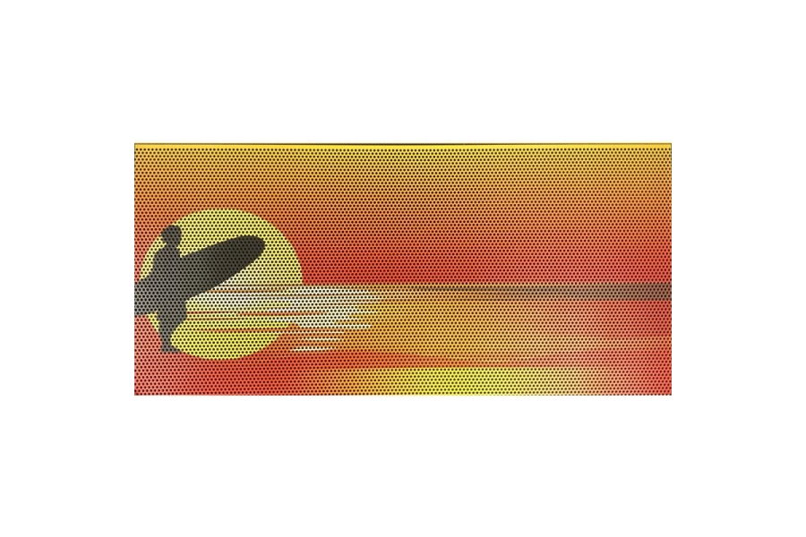 Under The Sun Inserts Endless Summer Orange Surfer Male Grill Insert (Part Number:INSRT-ESOMS-JL)