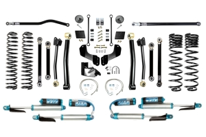EVO Manufacturing 4.5in Enforcer Overland Stage 4 Plus Lift Kit w/ Comp Adjusters - JT