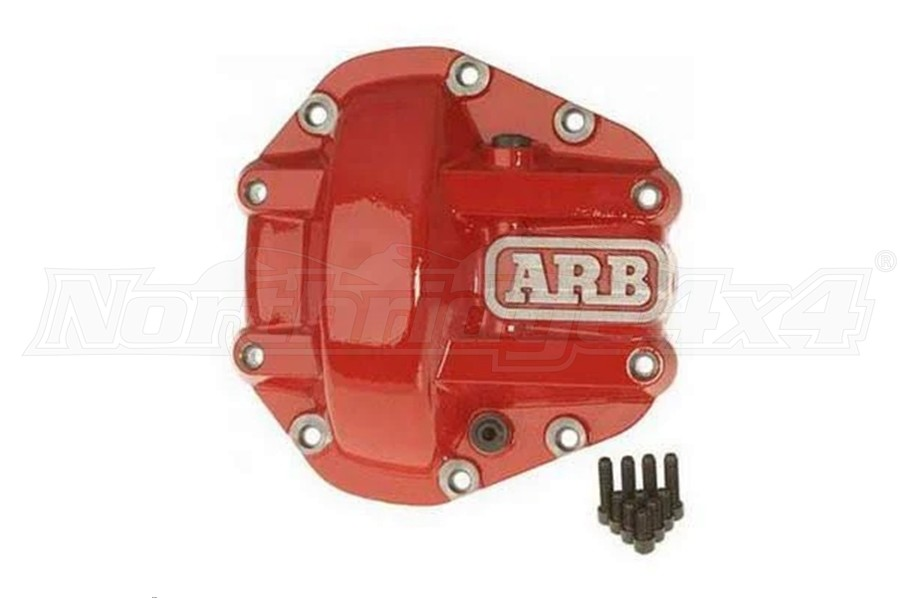 ARB Dana 44 Differential Cover, Red  (Part Number:750003)