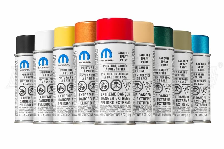 Mopar Touch-Up Spray Paint - Clear Top Coat