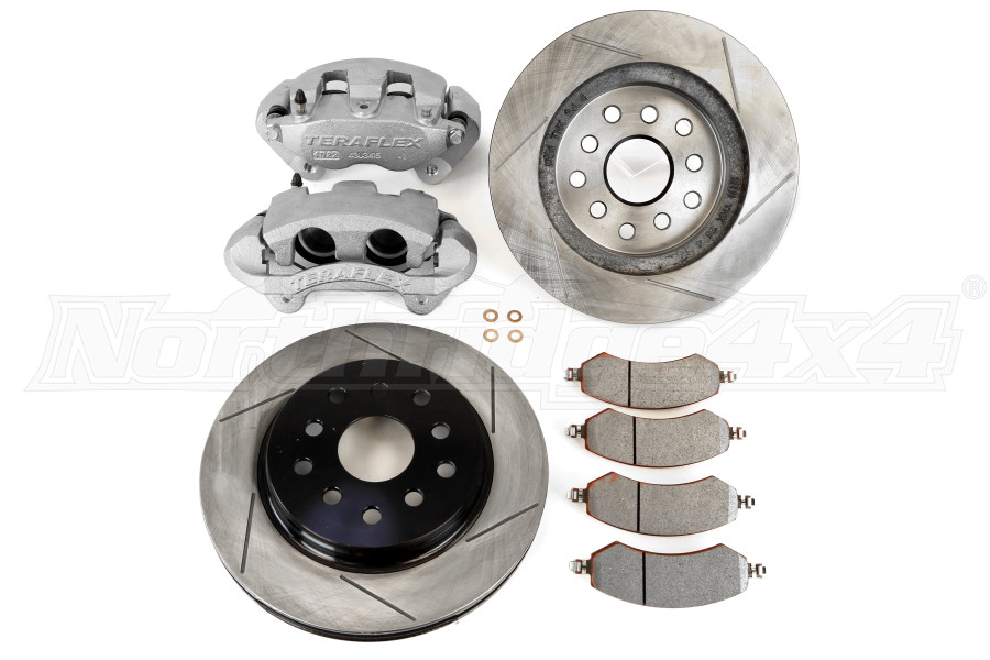Teraflex Big Brake Kit Front, Slotted - JK
