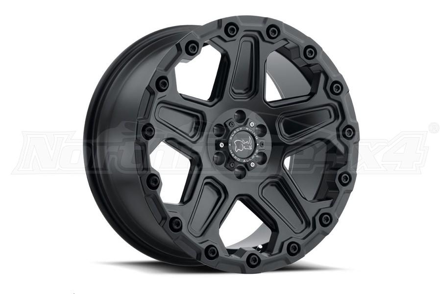 Black Rhino Cog Wheel 17x9.5 5x5 Matte Black (Part Number:1795COG-85127M71)