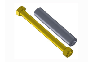 Artec Industries Dana 60 Knuckle Bolt Kit (Part Number: )
