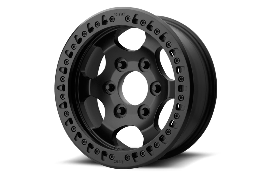 XD Series Wheels XD231 RG Race Beadlock Satin Black Wheel 17x8.5, 8X6.5