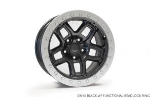 AEV Borah Wheel Onyx Black 17x8.5 5x5 (Part Number: )