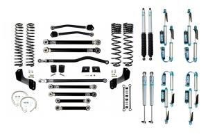 EVO Manufacturing 4.5in Enforcer Overland Plus Stage 4 Lift Kit w/ Shocks - JT Diesel