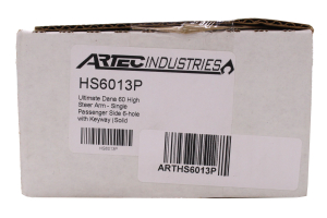 Artec Industries 6-Hole Solid Knuckle High Steer Arm Passenger Side (Part Number: )