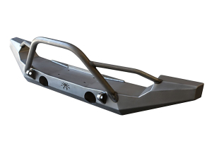 Poison Spyder Full Width Front Bumper with Tabs, Brawler Bar & Gussets (Part Number: )