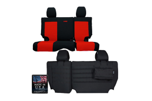 Bartact Rear Split Bench Seat Cover (Part Number: )
