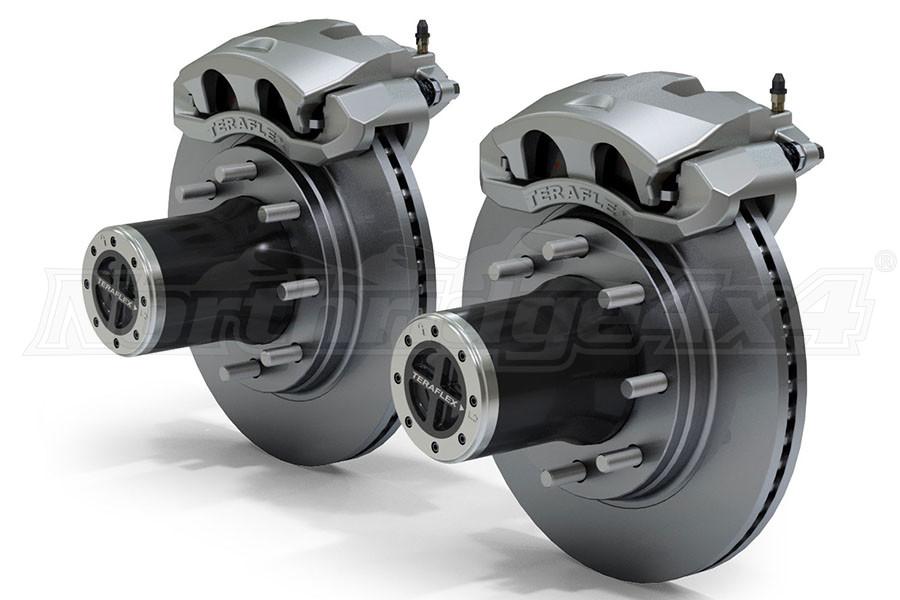 Teraflex JK Front 8-Lug Locking Hub Conversion Kit w/ Big Brakes (Part Number:3034412)
