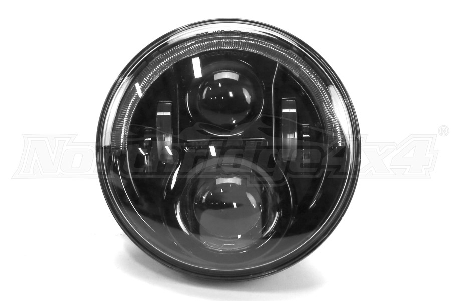 Jw Speaker Lights : Jw speaker evolution j series headlight black jeep