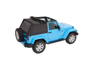 Bestop Trektop NX Plus Soft Top Black Diamond (Part Number: )
