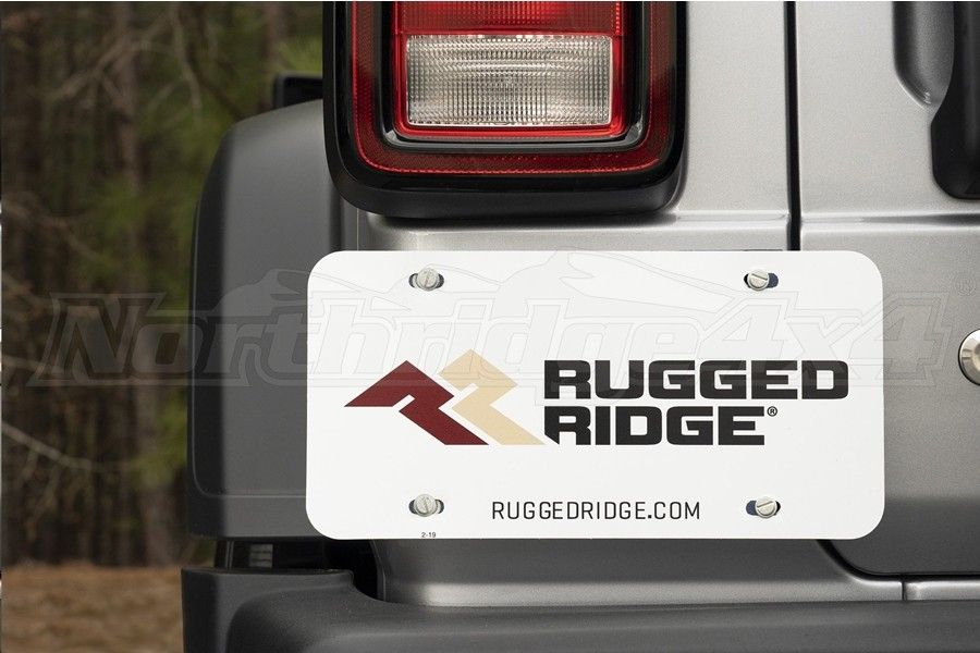 Rugged Ridge Magnetic License Plate Holder