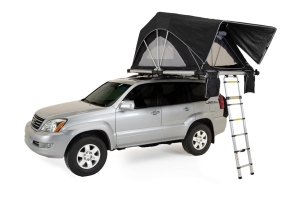FreeSpirit Recreation High Country Series Premium 63in Roof Top Tent - Black