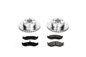 Power Stop Z23 Evolution Sport Brake Kit, Front  (Part Number: )