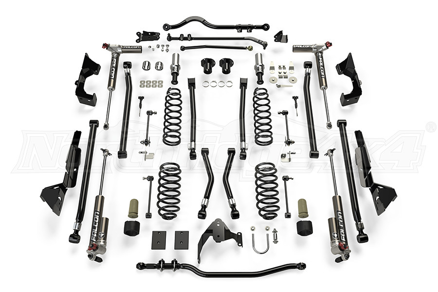 Teraflex Alpine CT6 Suspension System 6in Lift Kit w/ 3.3 Falcon Shocks (Part Number:1326033)
