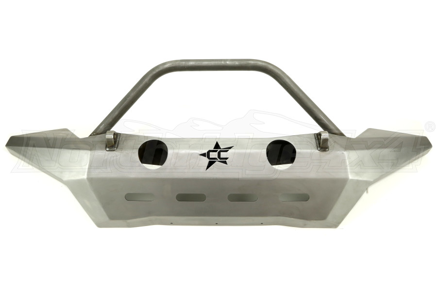 Crawler Conceptz Ultra Series Front Bumper w/Bar and Tabs Bare (Part Number:US-FWF-001)