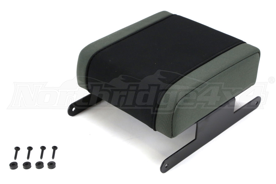 Rugged Ridge Arm Rest Pad Black/Grey - JK 2007-10