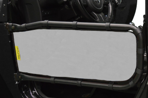 Dirty Dog 4x4 Olympic Front Tube Door Screen, Grey  (Part Number: )