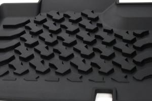 Bestop Rear Floor Liners Black - JK 4dr