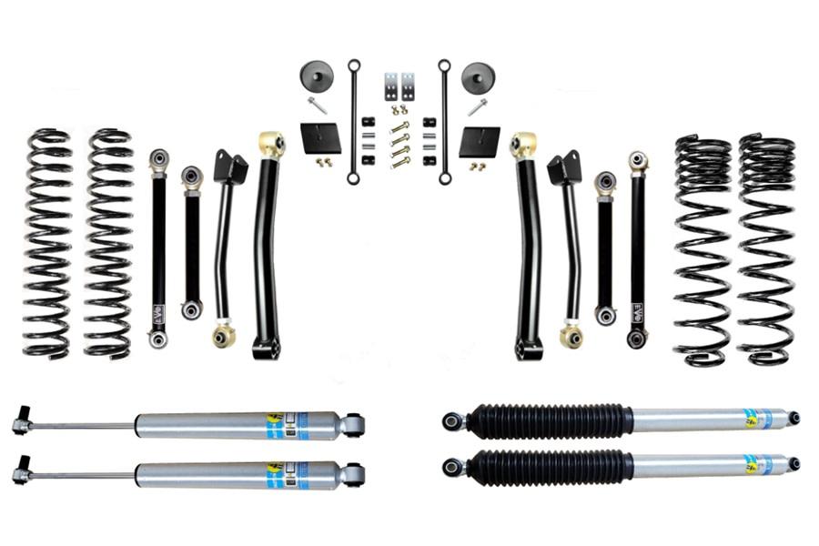 Evo Manufacturing 2.5in Enforcer Stage 4 Lift Kit w/ Bilstein Shocks - JT