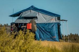 Roam Vagabond Rooftop Tent w/Annex - Slate Grey/Navy Blue