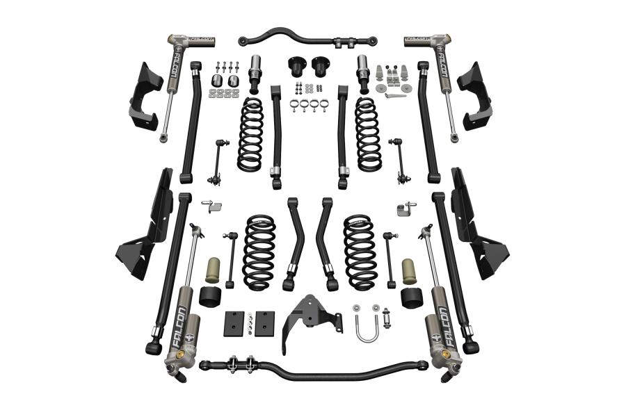 Teraflex 4in Alpine CT4 Suspension System w/ 3.2 Falcon Shocks - JK 2dr