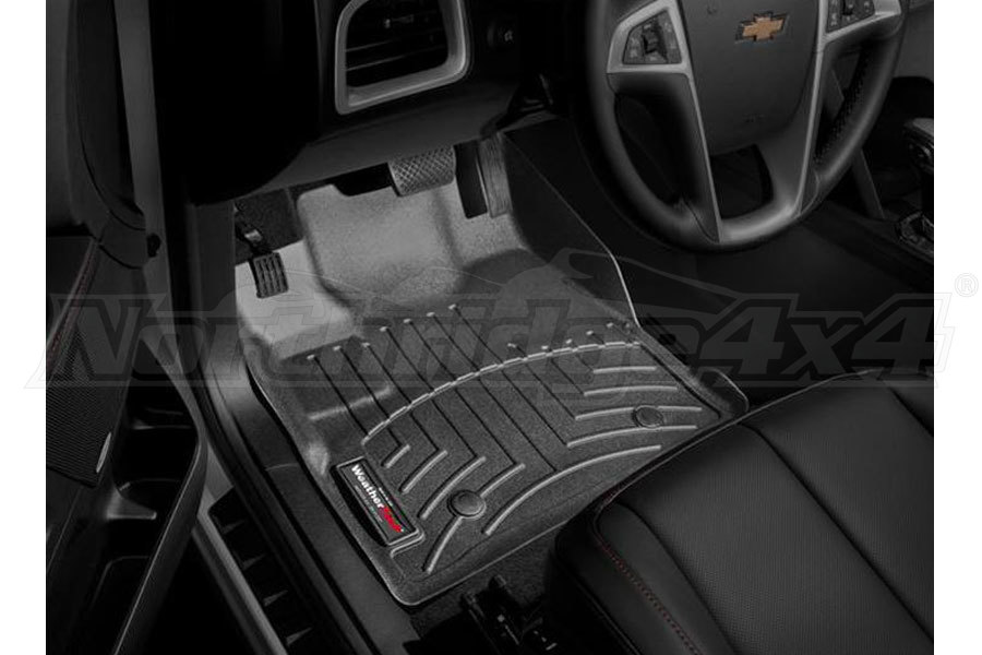 WeatherTech Front Floorliner Black (Part Number:443461)