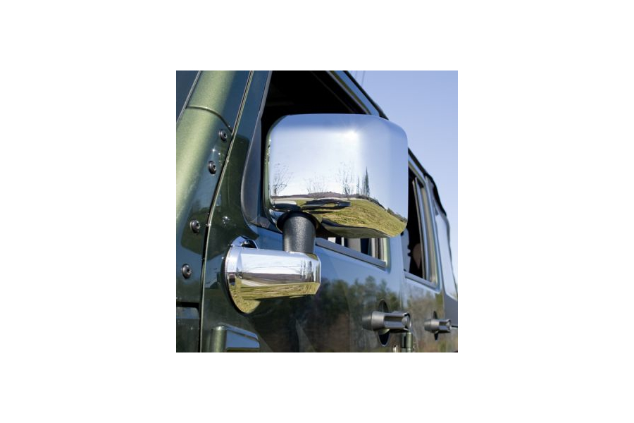 Rugged Ridge Chrome Mirror Cover Kit (Part Number:13311.03)