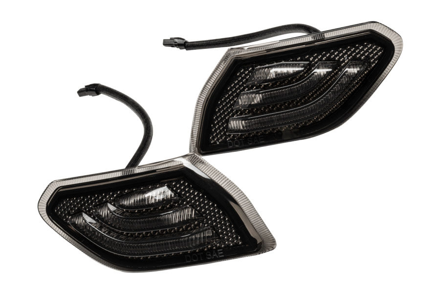 Oracle Smoked Lens LED Front Sidemarkers - JT/JL
