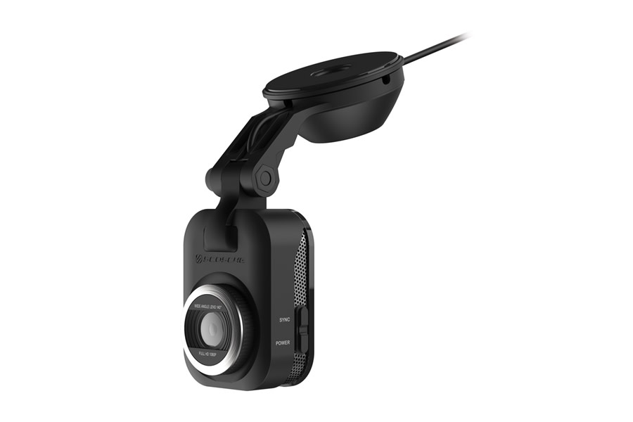 Scosche NexS1 Smart Dash Cam w/ Suction Cup Base - 32GB SD Card