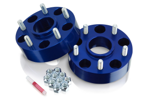 Spidertrax Wheel Spacer Kit Blue 5x5 1.75in ( Part Number: WHS021)