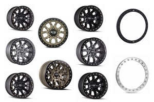 Dirty Life DT Series Beadlock Wheel and Ring Package - JT/JL/JK