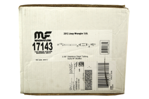 Magnaflow Off-Road Pro Cat-Back Exhaust ( Part Number: 17143)