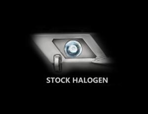 LOD Destroyer Light Bezel Options, Halogen Lights Bare Steel (Part Number: )