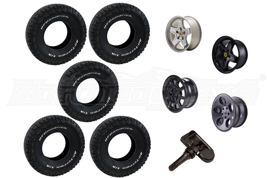 AEV Wheel and BFGoodrich Tire Package  (Part Number:BFG-PACKAGE)