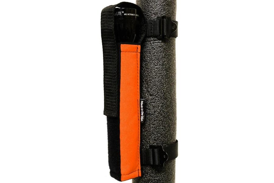 Bartact Extreme Roll Bar Multi-D-Cell Flashlight Holder - Orange