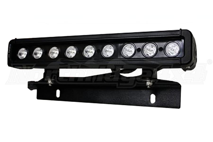 Smittybilt License Plate Light Mount
