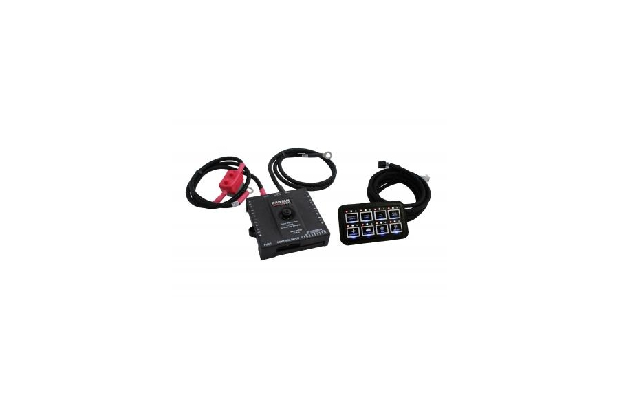 sPod Bantam 8-Switch w/HD and 84in Battery Cables